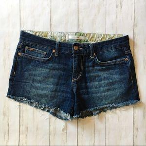 Joe's Jeans Ex Lover Blue Jean Denim Shorts